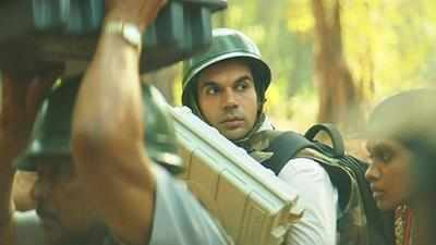 Newton movie review: Rajkummar Rao carries the weight of his character's finer virtues in director Amit Masurkar's political satire