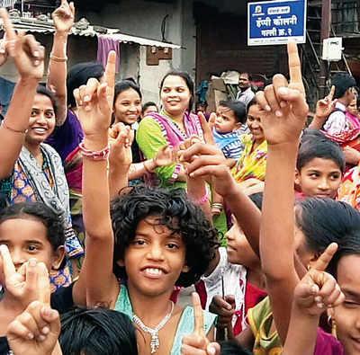 Slum children get tutors at home