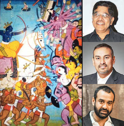Now, a three-part, trilingual Ramayana on the big screen
