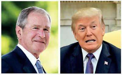 Bush paved way for Trump