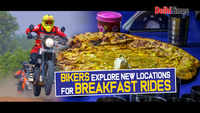 Bikers explore new locations for breakfast rides