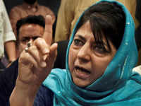 PDP chief Mehbooba Mufti terms local terrorists as 'sons of soil'
