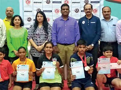 Dhairya completes treble in Ahmedabad TT