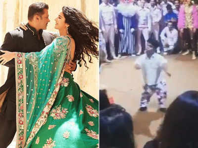 Watch: Salman Khan's fan woos everyone on the sets of Bharat