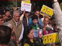 Noida: Angry homebuyers take to streets to protest against builders, govt
