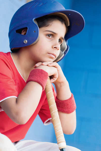 How to handle pressures of sports in teens