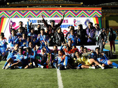SAFF U-15 Women's Championship: India pip Bangladesh for the crown