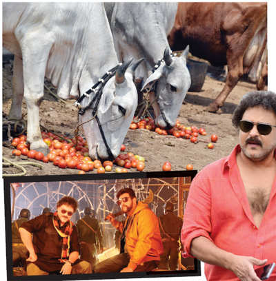 V Ravichandran's dialogue on beef from movie Seizer comes in for criticism