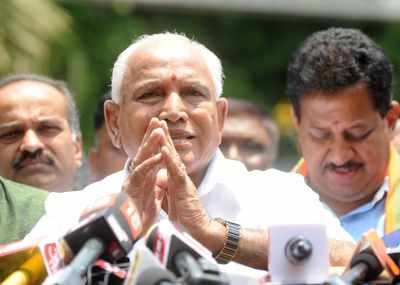 Karnataka Chief Minister BS Yeddyurappa swearing in ceremony at Raj Bhavan LIVE updates: JD (S) MLAs being shifted to Kochi resort