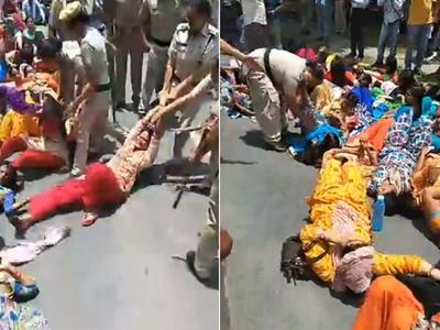 Fake alert: Old video from Haryana shared as police thrashing women in Kashmir
