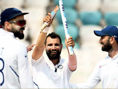 India vs South Africa: Mohammed Shami's five-for guides the home team a massive win