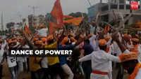 Viral video: Bajrang Dal activists brandish swords during a procession in Karnataka