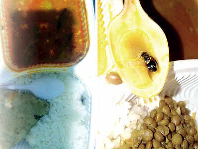 Insects and blades found in meals at CoEP jumbo centre