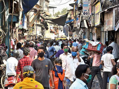 The 24-hour race to contain Dharavi