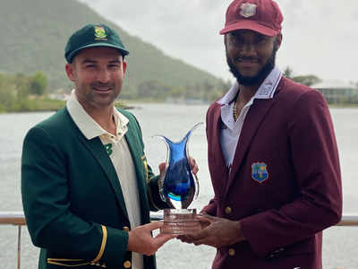 Live Cricket Score, West Indies vs South Africa 1st Test Day 3