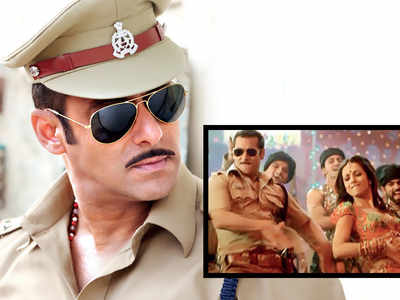 Salman Khan shakes a leg to Munna Badnaam Hua for Dabangg 3