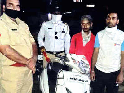 Cops book more than 500 people for allegedly roaming the city aimlessly on two-wheelers