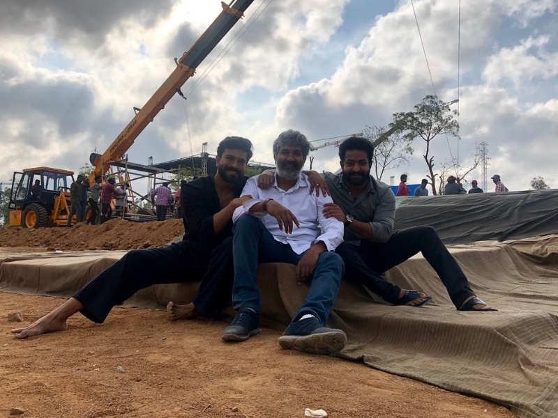 Bahubali director SS Rajamouli starts shooting RRR