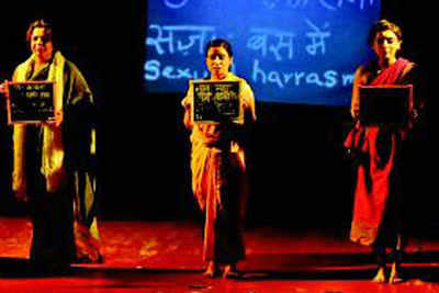 Nirbhaya on stage to highlight women's issues