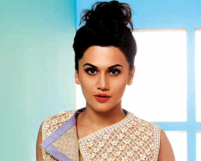 Taapsee Pannu: I had to match up to Varun Dhawan, Jacqueline Fernandez