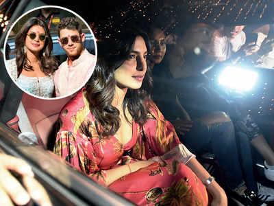 Priyanka Chopra, Nick Jonas's Delhi reception on December 4