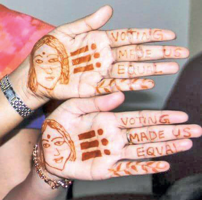Karnataka elections 2018: Administrations get clever with ideas to encourage people to come out and vote