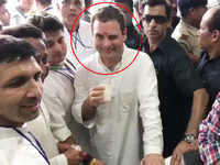 Rahul Gandhi winks again, this time for a 'chaiwala' at Bhopal