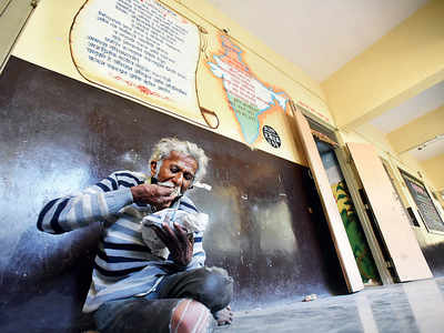 1,115 homeless persons taken off roads by police into shelters at PMC schools