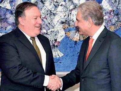 Pompeo meets Imran; seek ways to 'reset' ties