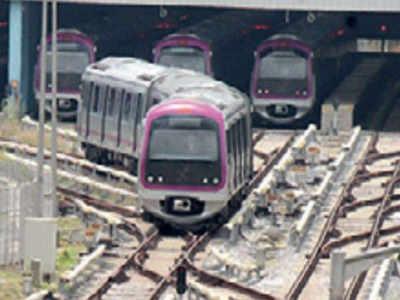 Metro's trial run on Anjanapura extn begins