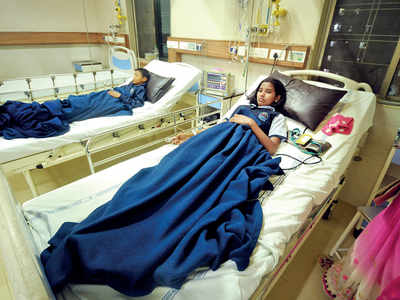 7 kids in hospital after PMC's vaccine drive