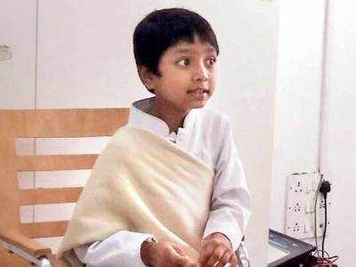 Celebrated 7-year-old author to hold a book talk at SPPU