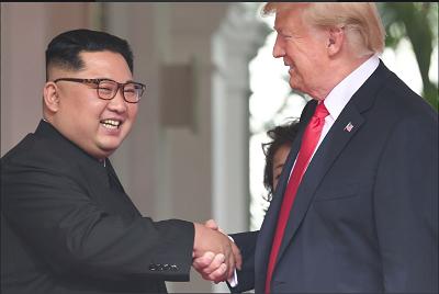 Watch: US President Donald Trump, North Korea leader Kim Jong Un and a historic handshake at Singapore Summit