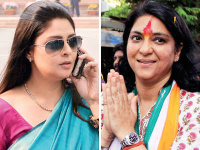 2019 Lok Sabha election: Nagma may be picked over Dutt for