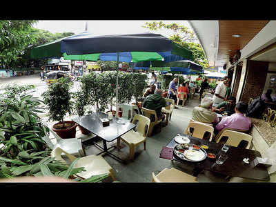 Your time at breezy footpath cafes is up!