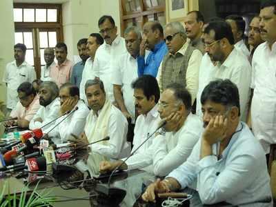 Karnataka political crisis: Congress leader DK Shivakumar to meet rebel MLAs in Mumbai on Wednesday