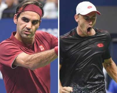 Australian's John Millman beats Roger Federer in US Open, to clash with Novak Djokovic in quarter-finals