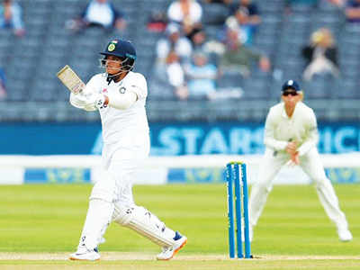 Women's Test: India collapse in first innings for 231, to follow on