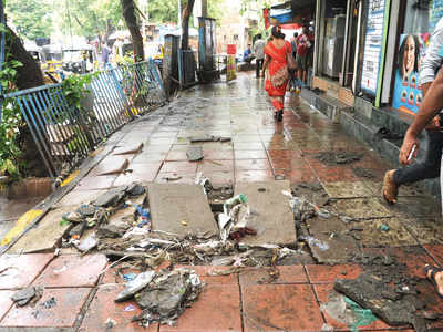 BMC slashes footpath fund by half to bail out BEST