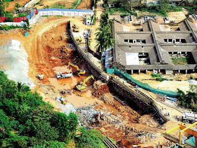 Aarey Metro car shed site being cleared and closed
