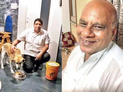 Stray dog saves doctor from death, repays him for rescuing her