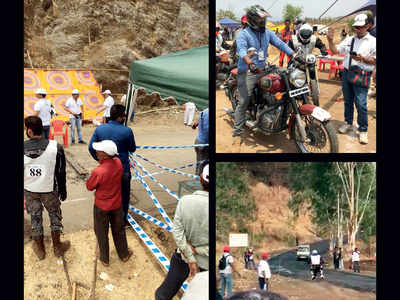 Hill-climb bike race stalled over snags; riders rue organisers' folly