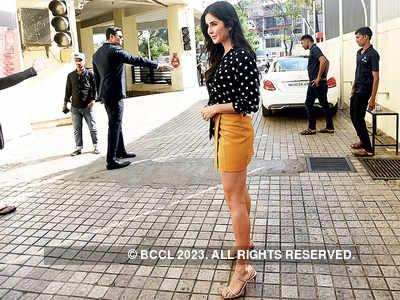 Katrina Kaif spotted in Juhu
