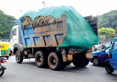 BBMP's antidote for trash trucks' stink:  15ml lemongrass oil