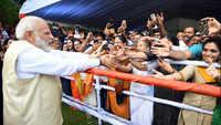 PM Modi expresses his pleasure at meeting Indian diaspora in Colombo