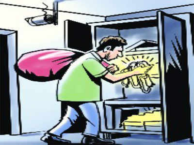 DRDO scientist's house burgled