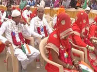 Ahmedabad: 101 Muslim couples tie nuptial knot in mass ceremony