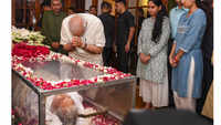 PM Narendra Modi pays tribute to former Delhi CM Sheila Dikshit