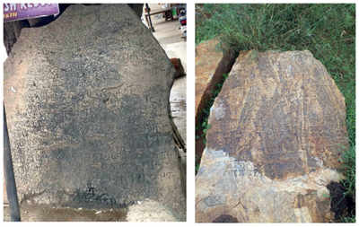 Two more Hoysala inscriptions in city