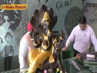 Ganesh Chaturthi: Restaurateur prepares Ganpati idol with chocolate